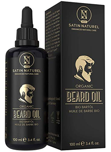 Satin Natural Olio di barba BIO